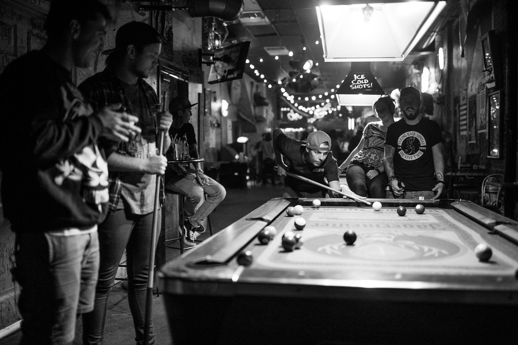 Pool with Pierce The Veil and Tonight Alive