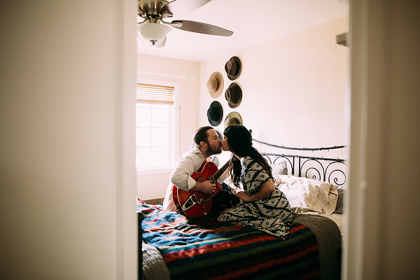 In Home Engagement |Costa Mesa | Stephanie and Loui