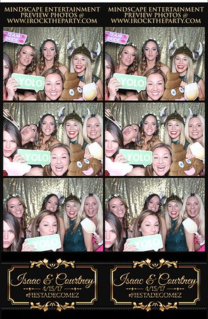 Isaac and Courtney's Wedding-Photo Booth Pictures