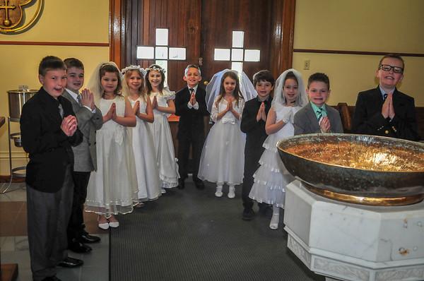 2018-04-29 First Communion Mass - Group B