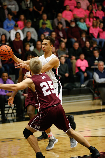 GHS Boys Basketball vs Moline Jan. 12, 2018