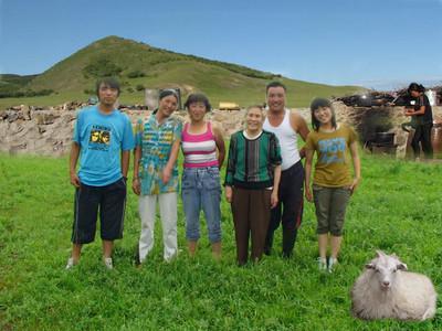 Camping in Inner Mongolia in 2010