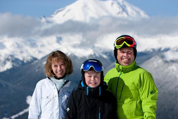 Zak, Mom and Dane
