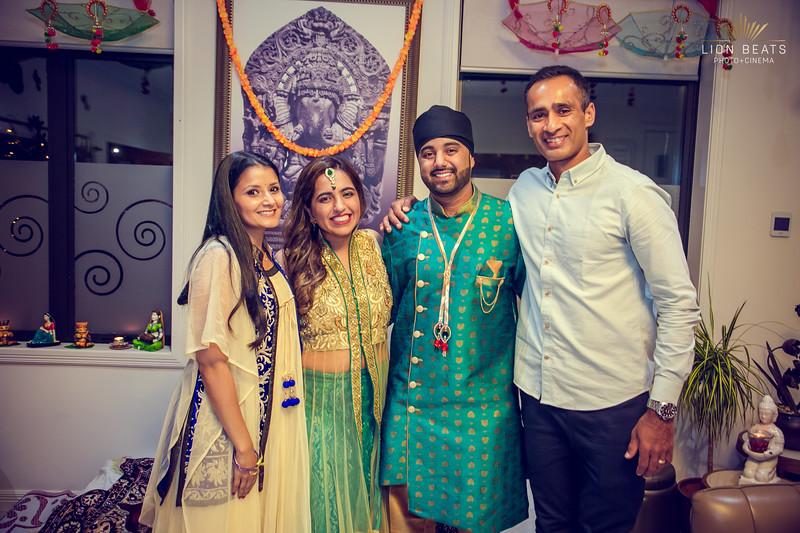 Inderpal & Kritika's Pre Wedding Events