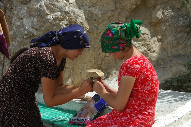 Legend of the Stone - Paraw Bibi, Turkmenistan
