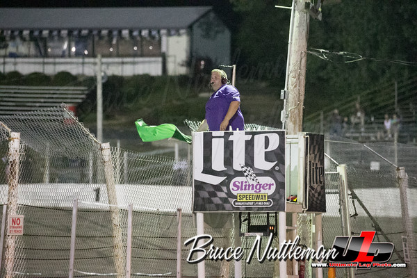 King of the High Banks, Slinger Speedway, July 17th, 2016