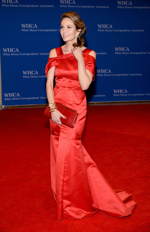 . Actress Diane Lane attends the 100th Annual White House Correspondents\' Association Dinner at the Washington Hilton on May 3, 2014 in Washington, DC.  (Photo by Dimitrios Kambouris/Getty Images)