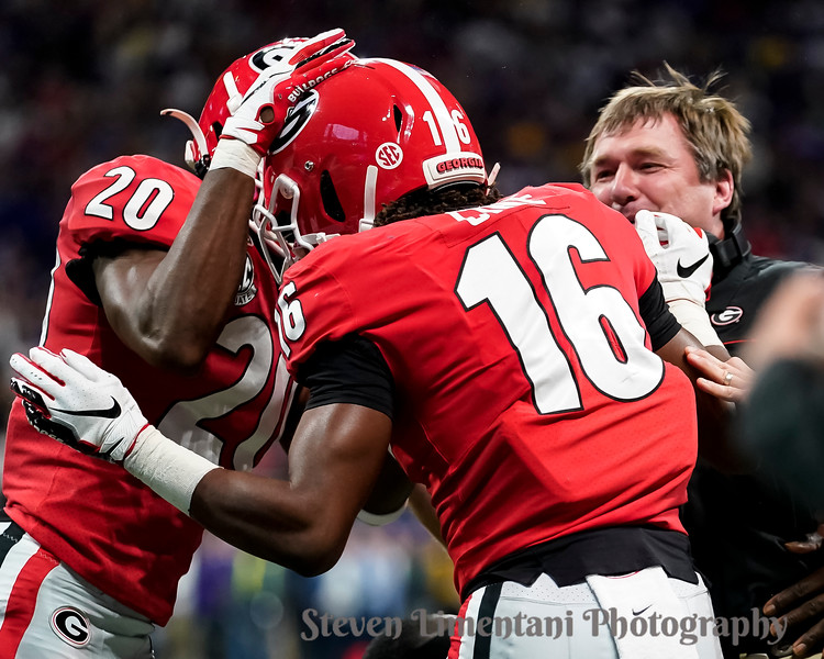 Lewis Cine, J.R. Reed, Kirby Smart