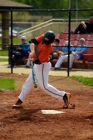 2016 Platte County Varsity Baseball vs Oak Park