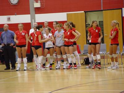 Girls Varsity Volleyball  - 2005-2006 - 1/19/2006 vs. Chippewa Hills