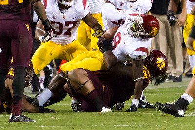 Football ASU vs USC 9/28/2013