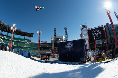 2019 Visa Big Air presented by Land Rover at SunTrust Park, Atlanta - Snowboard