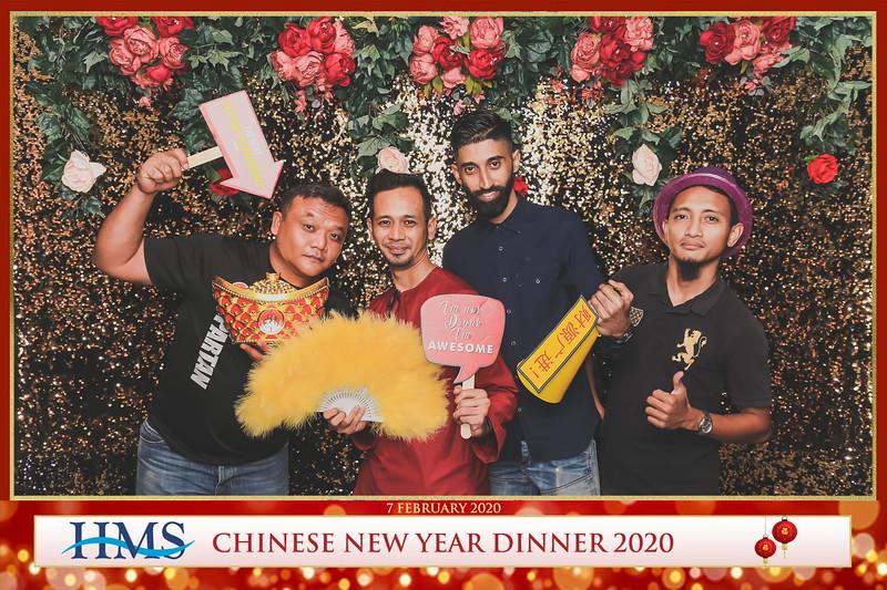 HMS Chinese New Year Dinner 2020 | © www.SRSLYPhotobooth.sg