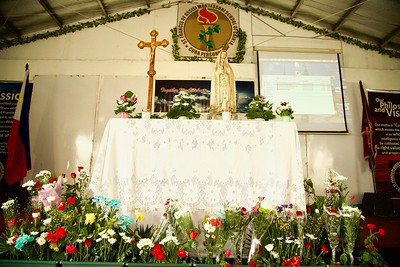 Our Lady of Fatima Visits SFAMSC 2017