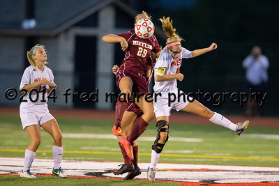 Wilson Girls vs Gov. Mifflin  9/11/2014