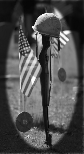 In honor and memory of the men and women of America that have fallen while fighting for the freedoms that we enjoy.  Freedom is not free.