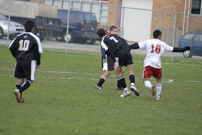 West Hempstead vs Mineola boys soccer playoffs 10-28-2011