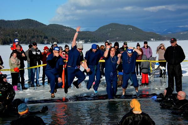 Law Enforcement Torch Run Polar Plunges