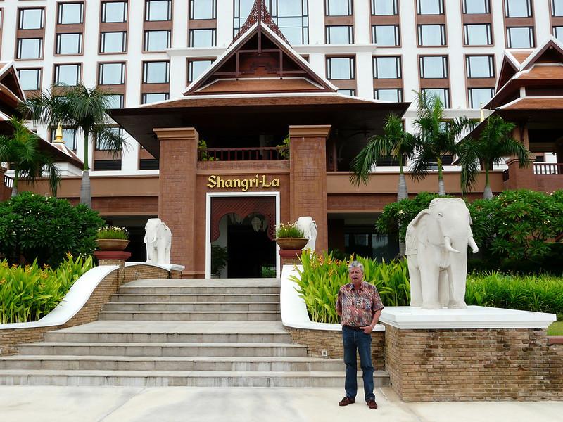 GA at Shangri La Hotel, Chiang Mai.