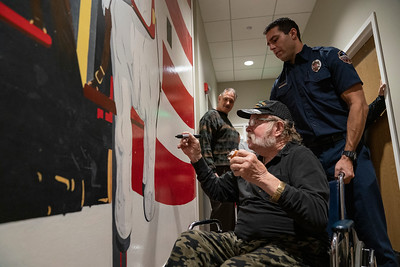 Firehouse 32 Wall Signing