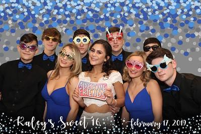 Kaley's Sweet 16