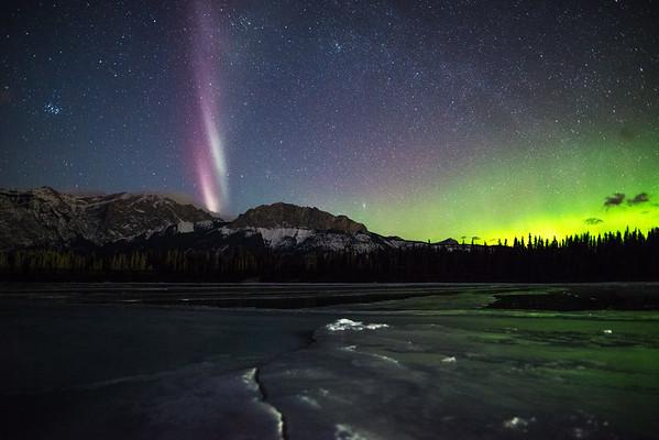 "Aurora Pillar ""Steve"""