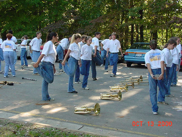 2000-10-13 Homecoming Parade