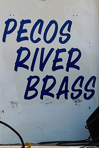 Pecos River Brass, The Band on a HOT August Eve.