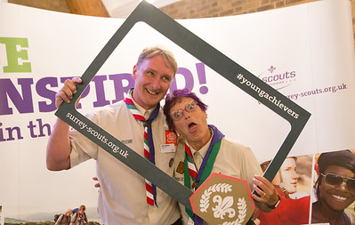 Chief Scout Gold Award Presentation - Woking 2017