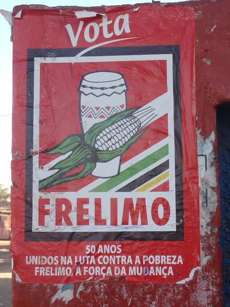007_Frelimo. The Frente Libertaçao de Moçambique. Political Party.JPG
