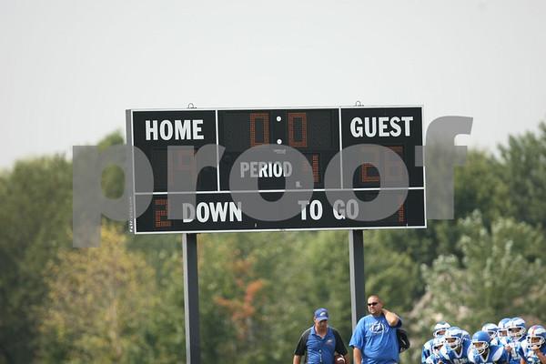 5th Grade-Odessa Bulldogs Red vs Warrensburg Rattlers 9-12-09
