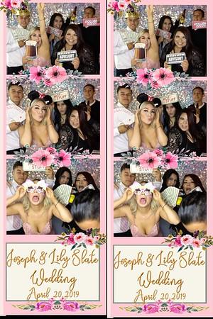 Joseph & Lily Slate Wedding