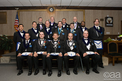 2007 Freemasons Officer Installation