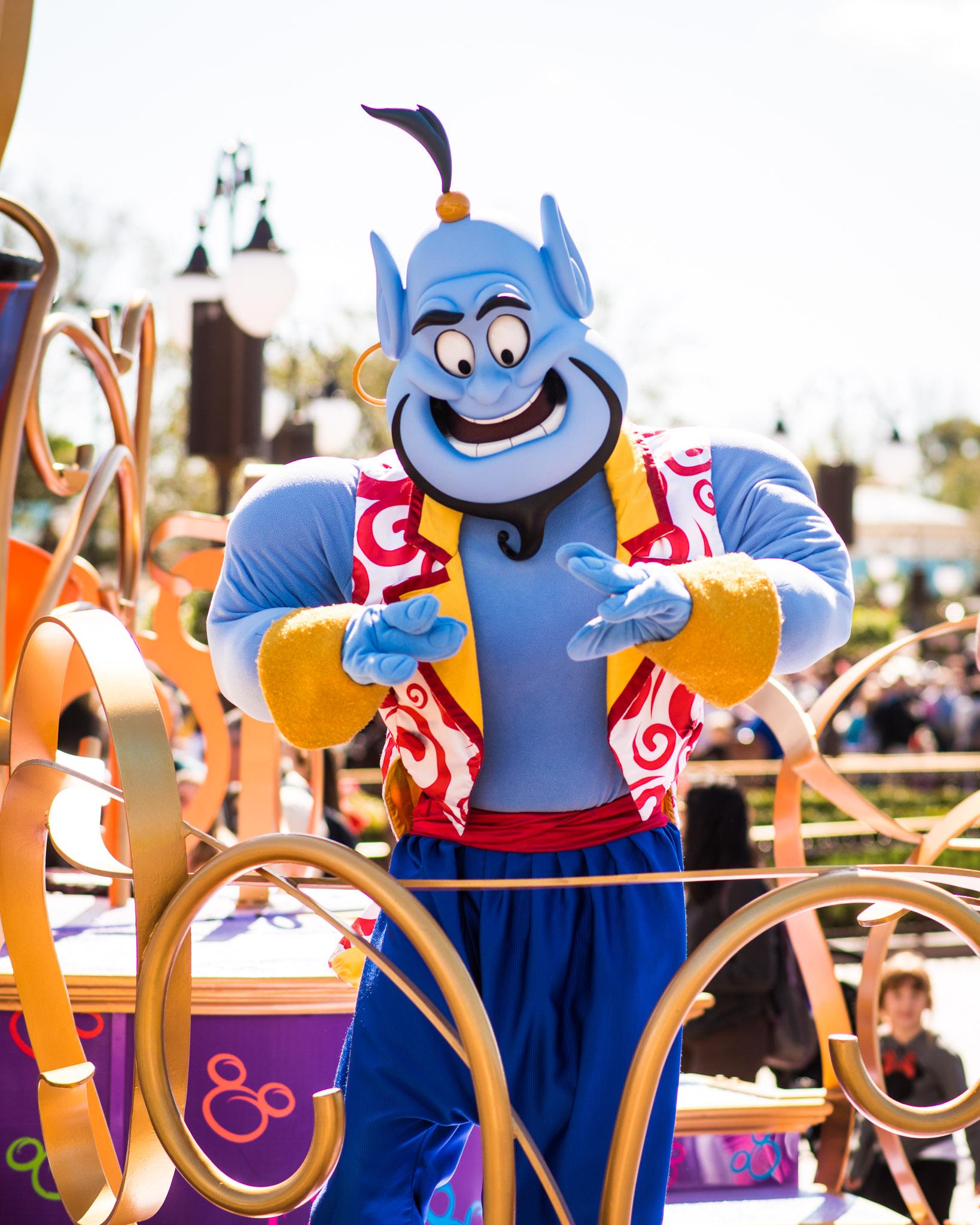 Aladdin Genie - Walt Disney World Magic Kingdom