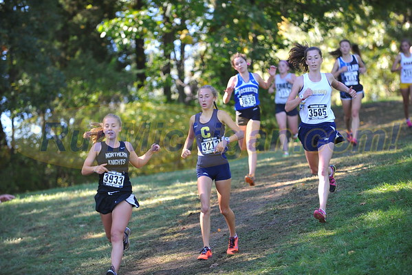 Girls' Reserves - 2016 Oakland County XC Championships