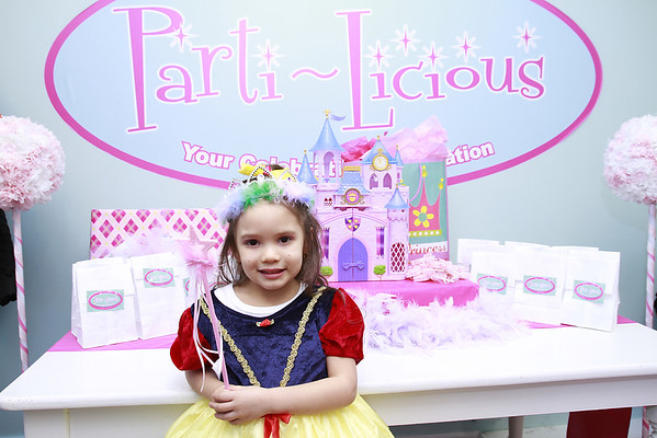 Princess party photobooth