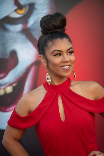 "WESTWOOD, CA - AUGUST 26: Brandi King attends the Premiere Of Warner Bros. Pictures' ""It Chapter Two"" at Regency Village Theatre on Monday, August 26, 2019 in Westwood, California. (Photo by Tom Sorensen/Moovieboy Pictures)"