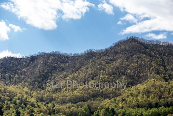 Blue Sky Hampton Mountain 04-27-15