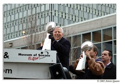 Patriots Super Bowl win 2005