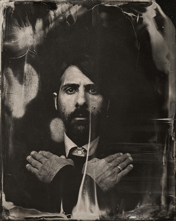 . Jason Schwartzman poses for a tintype (wet collodion) portrait at The Collective and Gibson Lounge Powered by CEG, during the 2014 Sundance Film Festival in Park City, Utah. (Photo by Victoria Will/Invision/AP)