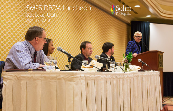 SMPS Utah April 2013 Luncheon-Legislative Update: State Funded Projects