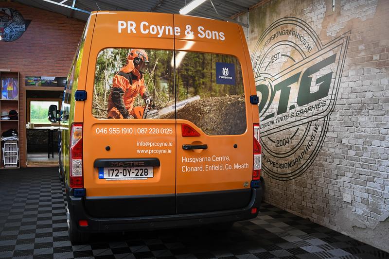 PR Coyne Renault Master