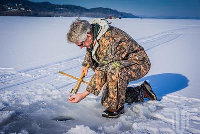 Lake Champlain Ice Fishing