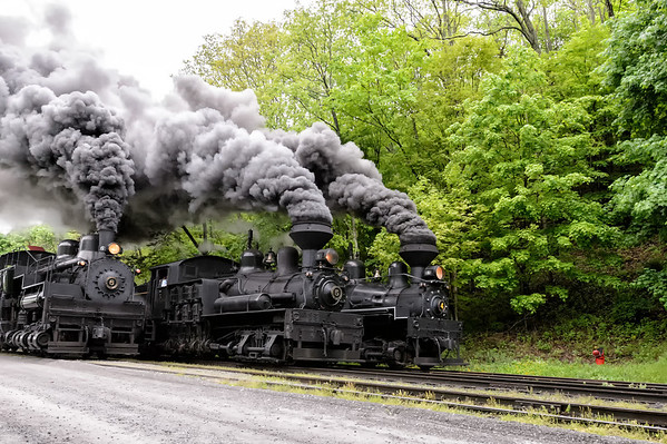 Cass Railfan Weekend Steam Train Photos
