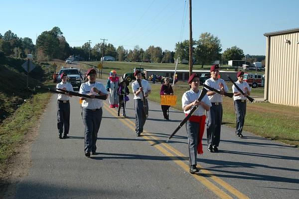 A Team on Parade