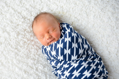 Grayson newborn photo shoot (5 days old)