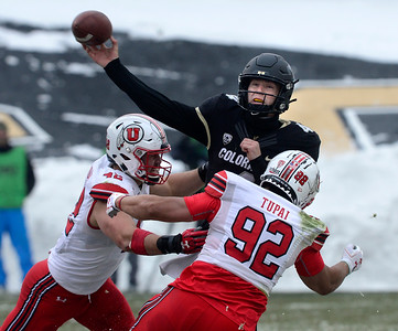 Photos: Colorado Loses to Utah in Pac-12 Football