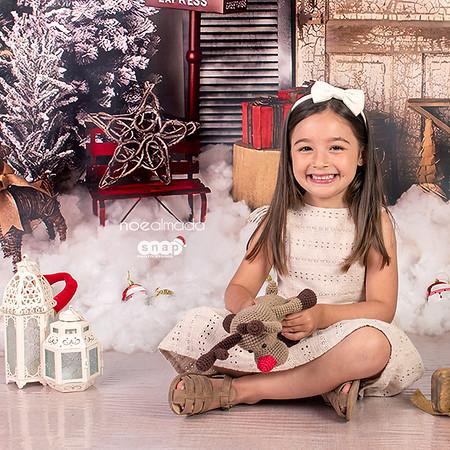 Olivia, sesión navideña