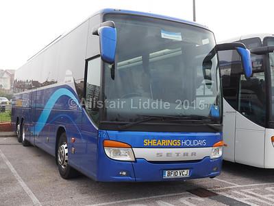 Blackpool Coach Parks 03-10-2015