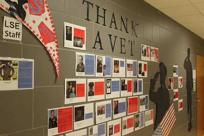 Honoring veterans at Southeast High School